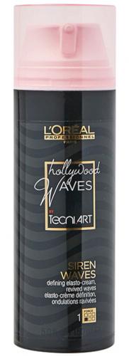 L'Oréal Professionnel - HOLLYWOOD WAVES - SIREN WAVES - Krem podkreślający skręt loków