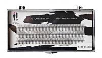 Ibra - ,,NATURALS'' FLARES EYELASH - KNOT-FREE - Kępki sztucznych rzęs - 0.07-C-13 mm - 0.07-C-13 mm