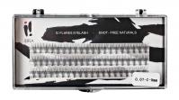 Ibra - ,,NATURALS'' FLARES EYELASH - Fake eyelash clusters - 0.07-C-9 mm - 0.07-C-9 mm