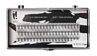 Ibra - ,,NATURALS'' FLARES EYELASH - Fake eyelash clusters - 0.07-C-11 mm - 0.07-C-11 mm