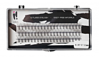 Ibra - ,,NATURALS'' FLARES EYELASH - KNOT-FREE - Kępki sztucznych rzęs - 0.07-C-11 mm - 0.07-C-11 mm