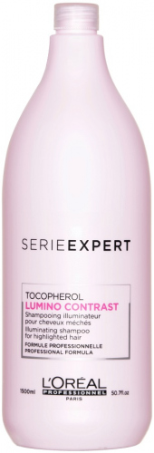 L'Oréal Professionnel - SERIE EXPERT - TOCOPHEROL LUMINO CONTRAST - Szampon do włosów farbowanych i z pasemkami - 1500 ml