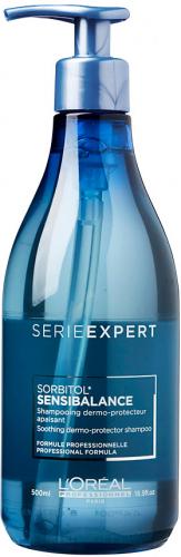 L'Oréal Professionnel - SERIE EXPERT - SORBITOL - SENSIBALANCE - Szampon do włosów dla skóry wrażliwej i podrażnionej - 500 ml