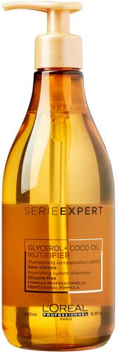 L'Oréal Professionnel - SERIE EXPERT - NUTRIFIER GLYCEROL + COCO OIL - Odżywczy szampon do włosów suchych - 500 ml