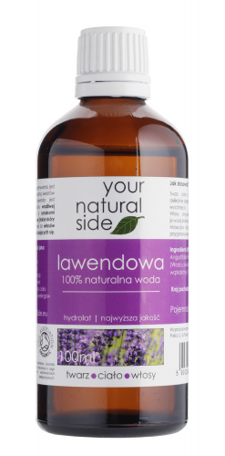 Your Natural Side - 100% Natural Lavender Water - 100 ml
