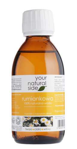 Your Natural Side - 100% naturalna woda rumiankowa - 200 ml
