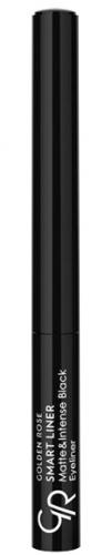 Golden Rose - SMART LINER - Matte&Intense Black Eyeliner - Eyeliner w płynie