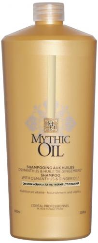 L'Oréal Professionnel - MYTHIC OIL - SHAMPOO - Szampon do włosów cienkich i normalnych - 1000 ml