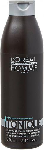 L'Oréal Professionnel - HOMME - TONIQUE - Szampon do włosów - Dla Mężczyzn - 250 ml
