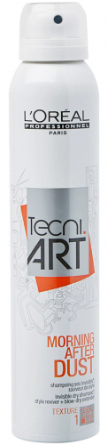 L'Oréal Professionnel - TECNI.ART - MORNING AFTER DUST DRY SHAMPOO - Suchy szampon do włosów - 200 ml