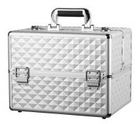 Kufer kosmetyczny - PB1810 - SILVER DIAMOND 3D