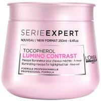 L'Oréal Professionnel - SERIE EXPERT - TOCOPHEROL - LUMINO CONTRAST - Odżywcza maska do włosów farbowanych i z pasemkami - 250 ml