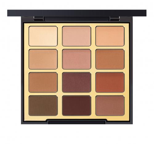 MILANI - Most Loved Mattes - Eyeshadow Palette - 01 - Paleta 12 cieni do powiek