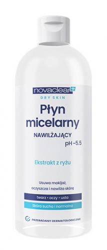 Novaclear - MOISTURISING MICELLAR WATER - Nawilżający płyn micelarny
