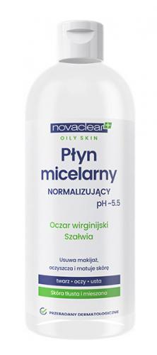 NovaClear - NORMALIZING MICELLAR WATER - Normalizujący płyn micelarny