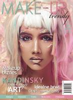 Magazyn Make-Up Trendy - IDEALNE BRWI - No3/2018 - Wersja różowa