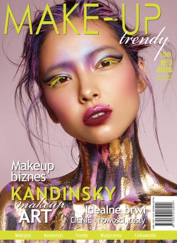 Magazyn Make-Up Trendy - IDEALNE BRWI - No3/2018 - Wersja fioletowa