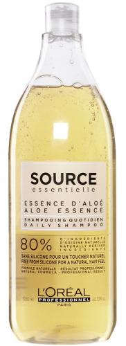 L'Oréal Professionnel - SOURCE ESSENTIELLE - DAILY SHAMPOO - Szampon dla każdego rodzaju włosów z uwzględnieniem potrzeb normalnych i cienkich pasm - 1500 ml