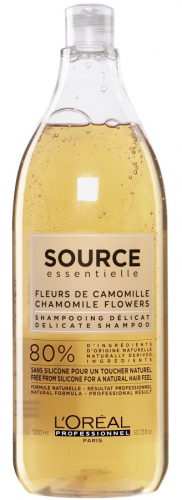 L'Oréal Professionnel - SOURCE ESSENTIELLE - DELICATE SHAMPOO - Delikatny szampon do włosów - 1500 ml