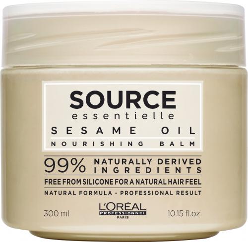 L'Oréal Professionnel - SOURCE ESSENTIELLE - NOURISHING BALM - Odżywcza maska do włosów suchych i uwrażliwionych - 300 ml