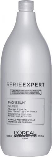 L'Oréal Professionnel - SERIE EXPERT - MAGNESIUM SILVER - Szampon do siwych i mocno rozjaśnionych włosów - 1500 ml