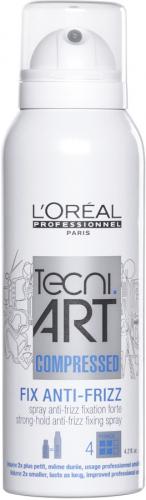 L'Oréal Professionnel - TECNI.ART - FIX ANTI-FRIZZ - Utrwalający lakier do włosów puszących się - 125 ml