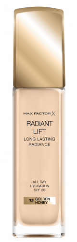 MAX FACTOR - RADIANT LIFT - LONG LASTING RADIANCE - Long-lasting Moisturizing and Brightening Foundation