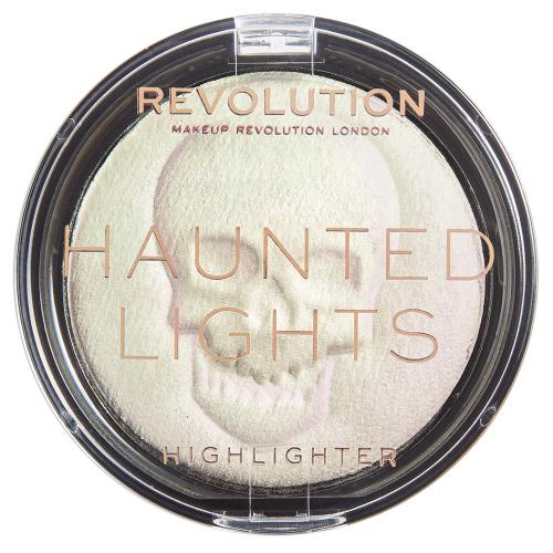 MAKEUP REVOLUTION - Haunted Lights Powder - Holograficzny rozświetlacz do twarzy