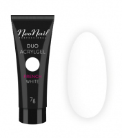 NeoNail - DUO ACRYLGEL - Acrylic-gel product for the extension and modeling of nails - 7 g - FRENCH WHITE - 7 g - FRENCH WHITE - 7 g
