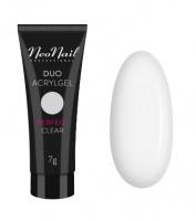 NeoNail - DUO ACRYLGEL - Akrylowo-żelowy produkt do przedłużania i modelowania paznokci - 7 g - PERFECT CLEAR - 7 g - PERFECT CLEAR - 7 g