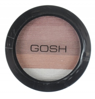GOSH - Bronzing Shimmer Powder - Brązujący puder róż