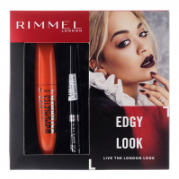 RIMMEL - EDGY LOOK - SCANDALEYES RELOADED MASCARA + GLAM`EYES LIQUID LINER