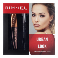 RIMMEL - URBAN LOOK - WONDER`FULL MASCARA + PROFESSIONAL EYEBROW PENCIL