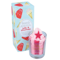 Bomb Cosmetics - Piped Candle with Pure Essential Oils - Jelly Icecream