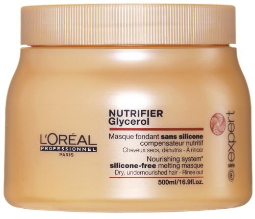 L'Oréal Professionnel - SERIE EXPERT - GLYCEROL NUTRIFIER - Maska do włosów suchych i przesuszonych - 500 ml
