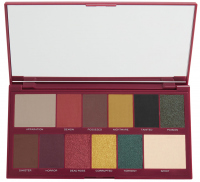 MAKEUP REVOLUTION - BEAUTIFUL DARKNESS 12 EYESHADOW PALETTE - Paleta 12 cieni do powiek