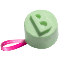 Bomb Cosmetics - Solid Shower Gel - Lime & Shine -Refreshing Lime
