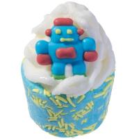 Bomb Cosmetics - Do the Robot - Creamy bath cupcake