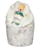 Bomb Cosmetics - Bring on the Bubbly - Kremowa babeczka do kąpieli - BRING ON THE BUBBLY