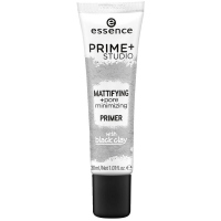 Essence - PRIME STUDIO - Mattifying + Pore minimizing Primer - Minimizing pores base with the addition of black clay