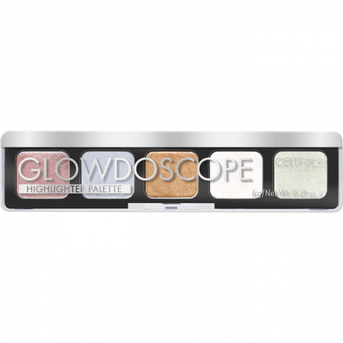 Catrice - Glowdoscope Highlighter Palette - Palette of 5 highlighters- 010