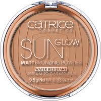 Catrice - Sun Glow - Matt Bronzing Powder - Puder brązujący - 9,5 g