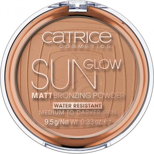 Catrice - Sun Glow - Matt Bronzing Powder - Puder brązujący