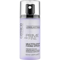 Catrice - PRIME AND FINE Multitalent Fixing Spray - Utrwalacz do makijażu w sprayu - 50 ml