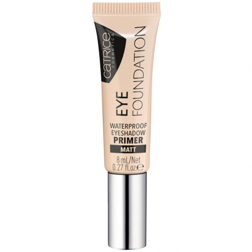 Catrice - Eye Foundation Waterproof Eyeshadow Primer - 010 As Parties As You Are