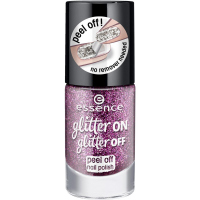 Essence - Glitter On, Glitter Off - Peel Off Nail Polish - Lakier do paznokci Peel Off - 03 - PARTY QUEEN - 03 - PARTY QUEEN