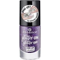 Essence - Glitter On, Glitter Off - Peel Off Nail Polish - Lakier do paznokci Peel Off - 04 - SPOTLIGHT ON! - 04 - SPOTLIGHT ON!