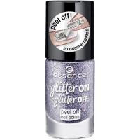 Essence - Glitter On, Glitter Off - Peel Off Nail Polish - Lakier do paznokci Peel Off - 05 - STARLIGHT EXPRESS - 05 - STARLIGHT EXPRESS
