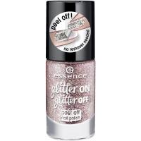 Essence - Glitter On, Glitter Off - Peel Off Nail Polish - Lakier do paznokci Peel Off