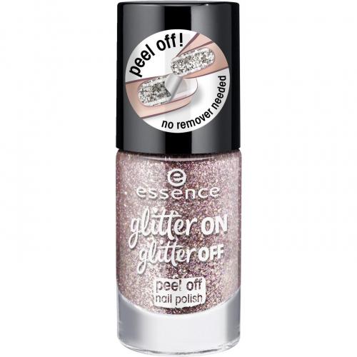 Essence - Glitter On, Glitter Off - Peel Off Nail Polish